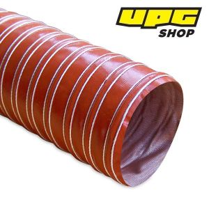 Heat Resistant Silicon Ducting, 76.2 mm x 3.6 m