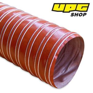 Heat Resistant Silicon Ducting, 101.6 mm x 3.6 m