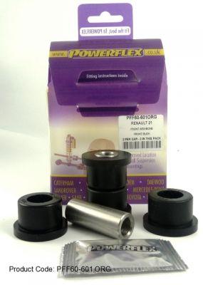 Powerflex Тампони за преден долен носач, предни Renault 21