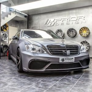 PD Black Edition V3 Widebody Aerodynamic-Kit for Mercedes S-Class W221