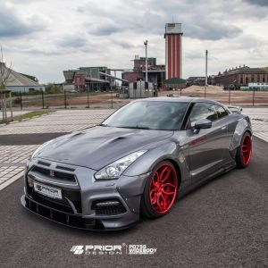 PD750 Widebody Aerodynamic-Kit for Nissan GT-R [R35]