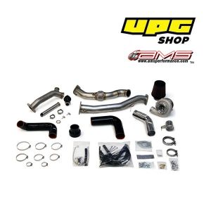 AMS 08+ Subaru STI/WRX Rotated Mount 750R V-Band Turbo kit