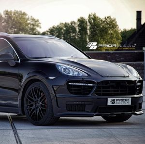 PD Widebody Aerodynamic-Kit for Porsche Cayenne II
