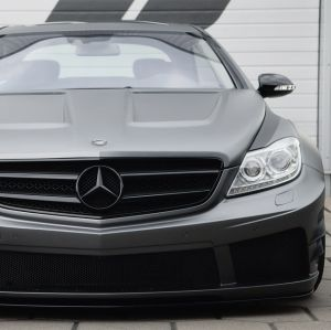 PD Black Edition V2 Widebody Aerodynamic-Kit for Mercedes CL W216 2010+