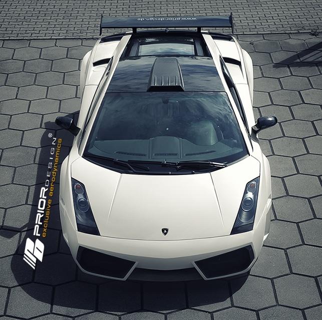 Pd Widebody Aerodynamic Kit For Lamborghini Gallardo