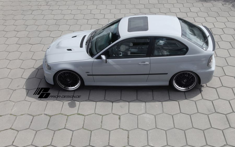 Prior Design Pd Mr Aerodynamic Kit For Bmw 3 Series E46 Compact