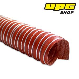 Heat Resistant Silicon Ducting, 25.4 mm x 3.6 m