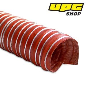 Heat Resistant Silicon Ducting, 50.8 mm x 3.6 m