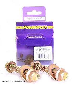Powerflex PowerAlign Camber Bolt Kit M16 Honda Civic Mk7