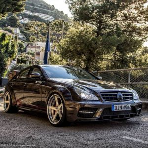 PD Black Edition Widebody Aerodynamic-Kit for Mercedes CLS W219