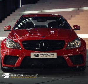 PD Black Edition Widebody Aerodynamic-Kit for Mercedes C-Class Coupe W204