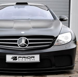 PD Black Edition Widebody Aerodynamic-Kit for Mercedes CL W216