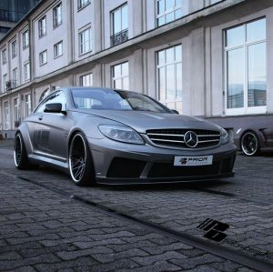 PD Black Edition V2 Widebody Aerodynamic-Kit for Mercedes CL W216