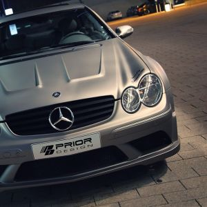 PD Black Edition Widebody Aerodynamic-Kit for Mercedes CLK W209
