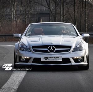 PD-Series Widebody Aerodynamic-Kit for Mercedes SL R230 FL