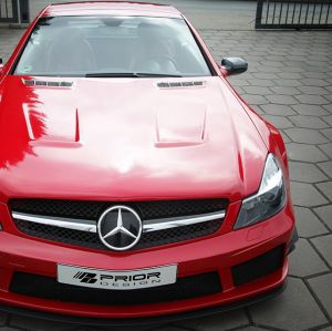 PD BE V2 Widebody Aerodynamic-Kit for Mercedes SL R230 FL